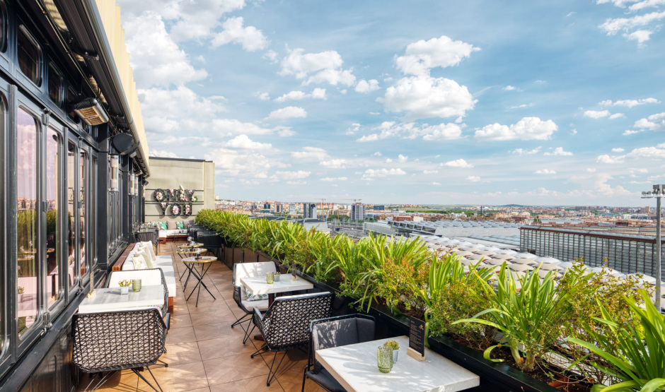 Panoramic Restaurant In Madrid Séptima Only You Hotel Atocha