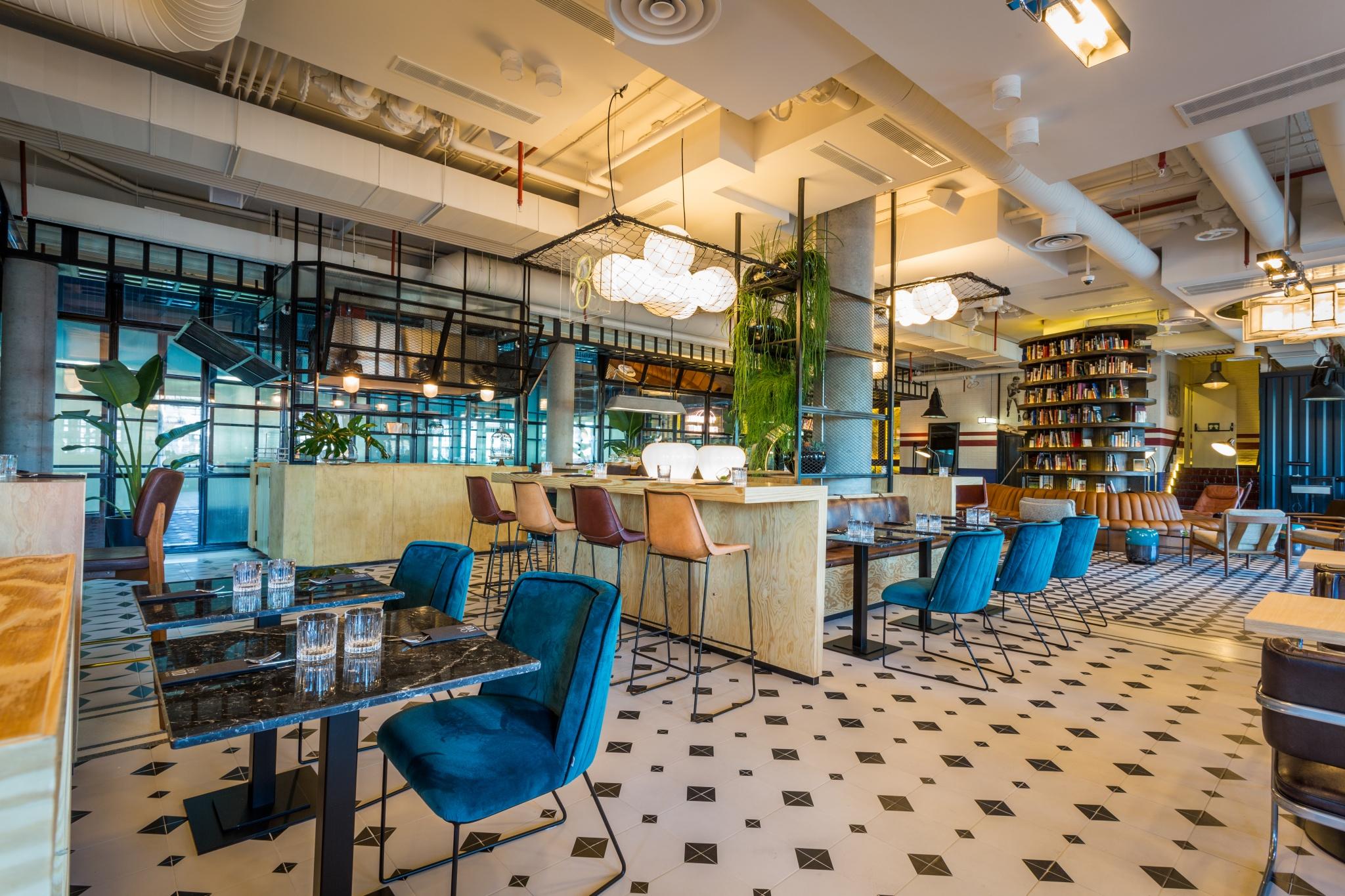 Cocina mestiza en restaurante trotamundos only you hotel for Hoteles minimalistas en espana